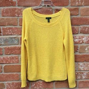 Ralph Lauren Sweater Yellow Size Large